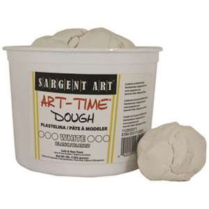 3Lb Art Time Dough - White By Sargent Art Inc. SARGENT ART INC. Supplies