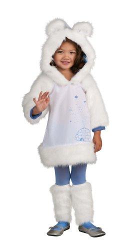 Rubie's Let's Pretend Polar Bear Costume - Toddler (2T-4T)]()
