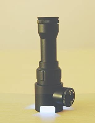 GOWE New Portable handheld Metal Microscope 50X with reticle and LED light Illumination
