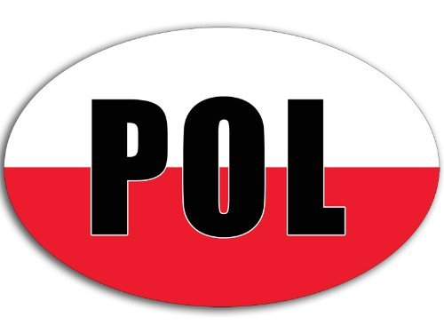 poland car decal - 4