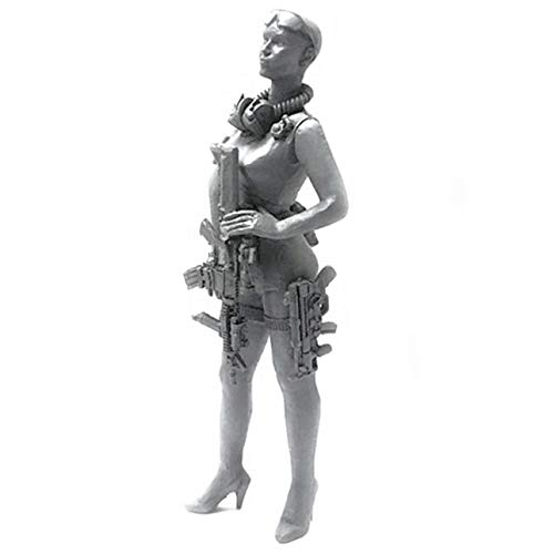 Military Model 1/35 US Army Special Forces Girl Saboteur Paratrooper Killer M4 by Jorromodels