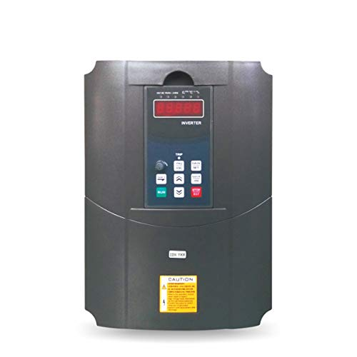 Vector Control CNC VFD Variable Frequency Drive Controller Inverter Converter 220V 11KW 15HP for Motor Speed Control HUANYANG GT-Series (220V, - Variable Controller Frequency Drive