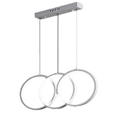Amazon.com: HAIXIANG Lámpara de techo de aluminio con tres ...