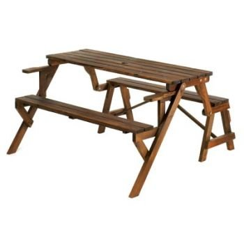 Convertible Garden Table And Bench