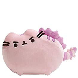 Pusheen Dinosaur Plush | Pusheenosaurus – Cotton Candy Pink – 13 Inch | Pusheen Plushies 10