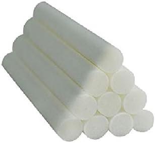 10-Pack Auto Diffuser Sponges Refill Sticks, Humidifier Replacement Wicks, Auto Diffuser Filter Sticks, 2.75 X 0.31 Inch für Auto Humidifier Diffuser und Mini Humidifier Ultrasonic Aroma Diffuser