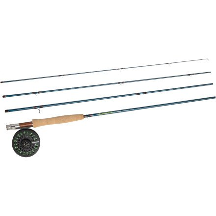 Redington Crosswater Youth Rod & Reel Outfit by REDINGTON
