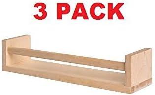 """Wall Storage 15 3//4/"""" IKEA 400.701.85 BEKVAM Birch Wood Spice Rack 2"""