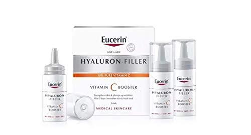 Eucerin Hyaluron-filler Vitamin C booster 3 x 8 ml.