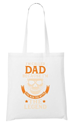 I`m Called Dad Bag White Certified Freak