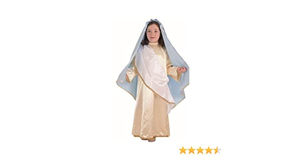 LLOPIS - Disfraz Infantil Virgen Maria t-3: Amazon.es: Juguetes y ...