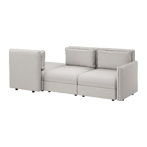 Ikea Sleeper sectional, 3-seat, Orrsta light gray 14204.20811.2634