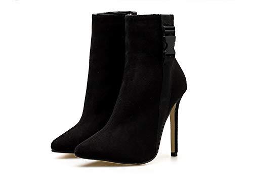 High Heels Hochhackigen mittel - Kurze Kurze Kurze Stiefel Elastische Stiefel. 6ce1d8