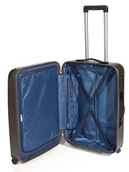 John Travel - Maleta (rígida, 77 cm, 95 L, 4 ruedas), color verde: Amazon.es: Deportes y aire libre