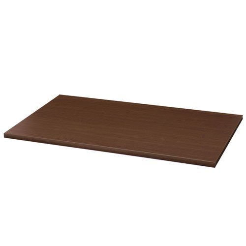 Organized Living freedomRail Wood Shelf, 48-inch x 12-inch - Chocolate Pear