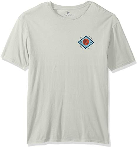 Rip Curl Men's Local Fish Heritage Tee, Off White, ()