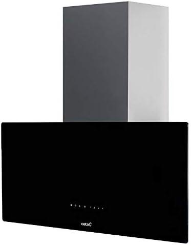 CATA GRECO 70 BK 850 m³/h De pared Negro A - Campana (850 m³/h, Canalizado/Recirculación, A, A, C, 65 dB): Amazon.es: Grandes electrodomésticos