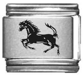 Horse Animal Italian Charms - 4