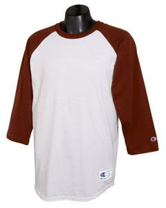 Amazon.com: Champion - 6.1 oz. Tagless Raglan Baseball T-Shirt ...