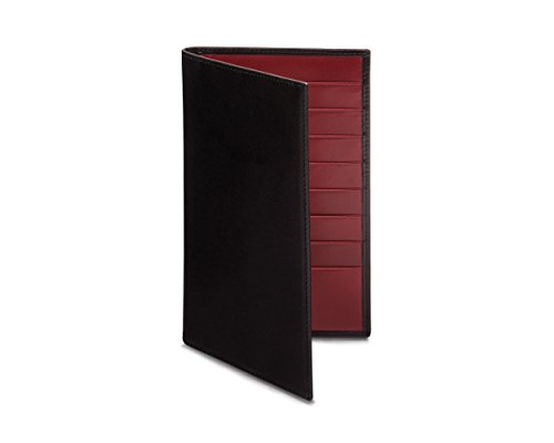 SAGEBROWN Black Red Tall SAGEBROWN Tall Wallet Suit with 7qZ7r