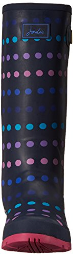 Multi Print Rain Women's Welly Navy Boot Spot Joules nwxqAw