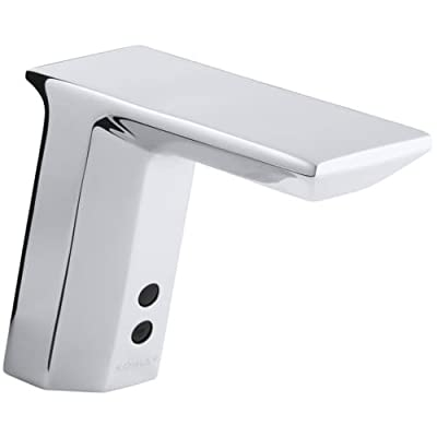 KOHLER Geometric Touchless Ac-Powered Deck-Mount Faucet