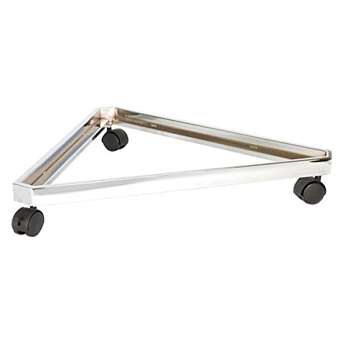 KC Store Fixtures 04306 Base Grid Triangle with Casters, 24