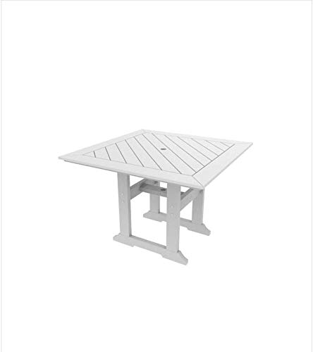 Malibu Outdoor Living Recycled Plastic Bristol 42IN. Dining Table Lead Time 3 to 4 Weeks (Dining Bristol Table)
