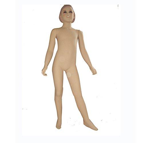 BEIYANG FRP Child Mannequin Torso Dress Form Display Stand Designer Pattern (AD-3) by BEIYANG