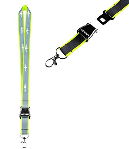 (NOVAH Neon Safety Lanyard)