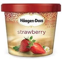 Haagen Dazs, Strawberry Ice Cream, 3.6 Oz. Cup (12 Count)