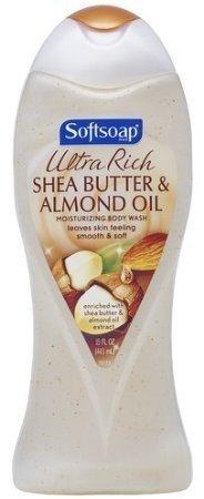 15 Moisturizing Fl Oz (Softsoap Ultra Rich Shea Butter and Almond Oil Moisturizing Body Wash, 15 Fluid Ounce (Pack of 2) by Softsoap)