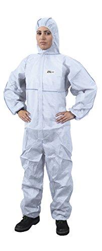DS Safetywear Bekleidung ProSafeLight, Overall, 3XL, weiß, SMS weiß