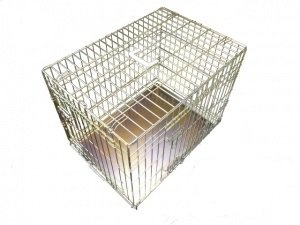 Gold Dog Crate/Cage (X Large 42'')