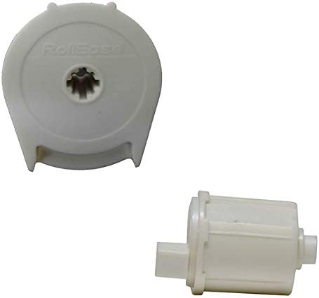 RollEase White R8 Roller Shade Clutch for 1 1//8 Tube