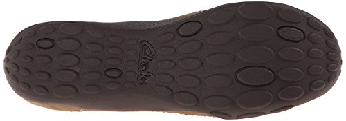 Clarks Womens Haley Stork Loafer Mushroom Nubuck