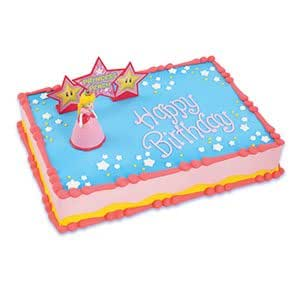 Amazon.com: Mario Bros Princess Peach Cake Decorating Kit ...