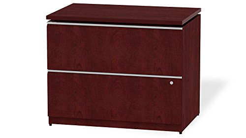 Modern Office BBF Milano 2 Drawer Lateral File- Harvest ()