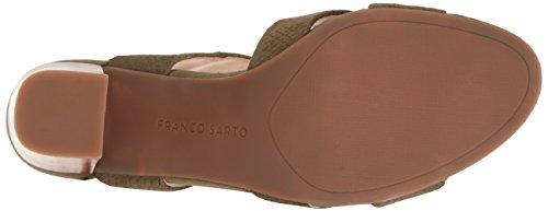 Franco Sarto Womens Sandalen Met Edelstenen, Vintage Salie