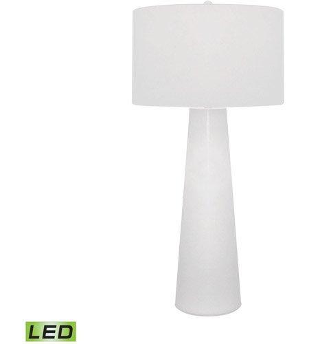 Amazon.com: Lámparas de mesa 1 luz con acabado blanco vidrio ...