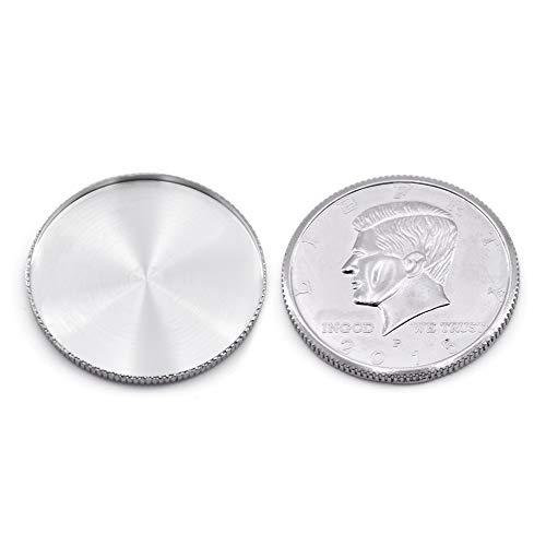 Expanded Shell (Half Dollar Head) Magic Tricks Coin Magic Accessories Close Up Magic Gimmick Stage Illusions Props,5Pcs/Set