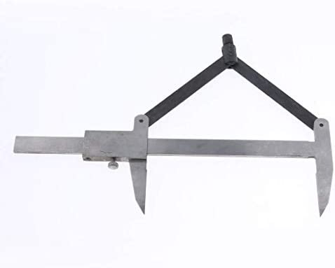 LIZANAN Caliper Stainless Steel Calipers, Gauge for Scribing Calipers 0 150mm Digital Caliper