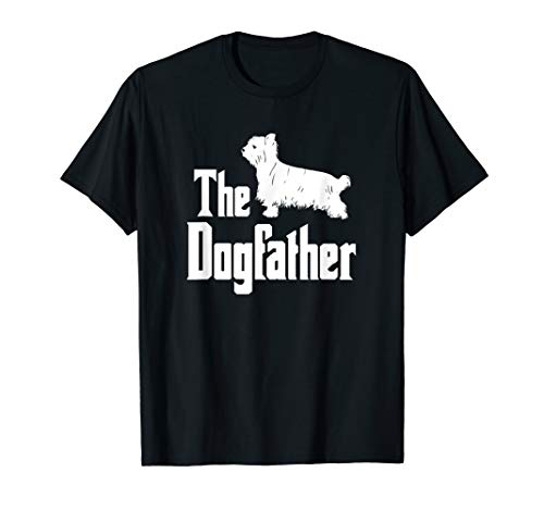The Dogfather T-Shirt, Yorkshire Terrier Dog, funny dog gift
