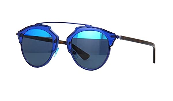 a3ccf268c75 Dior So Real Sunglasses 48mm Dark Blue Aqua KMA8T  Amazon.ca  Clothing    Accessories
