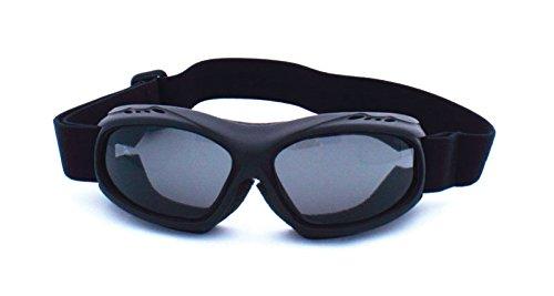 Guard-Dogs Goggle, Evader 1 Matte Black (Smoke w/FogStopper)