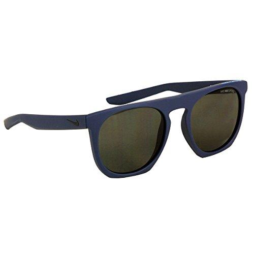 Nike Golf Flatspot Sunglasses, Matte Squadron Blue/Tide Pool Blue Frame, Grey - Max Sunglasses Nike Golf