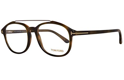 New Tom Ford Rx Eyeglasses With Case - FT5454 055 - Green Havana ()