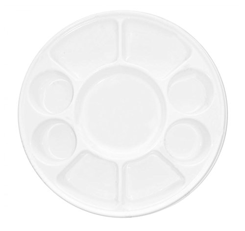 Quality Disposable Plastic Plates With 9 Compartments By Ekarro - Pack of 50 Pieces