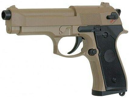 MM Spezial 126 M92F M9 Airsoft Gun < 0,5J - Sistema electrónico AEP (metal, ABS)