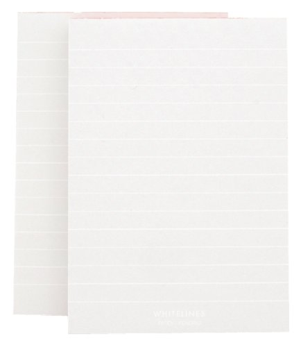 Whitelines Orange Glue A6 Lined Notepad (2 pack): Supporting your ideas